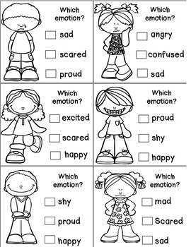 Feelings and Emotions Activities | Posters