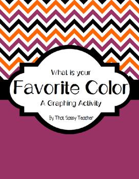 What is Your Favorite Color Graphing Activity