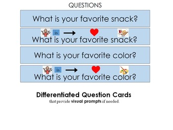 What is Your Favorite?: File Folder Activity for Building Language