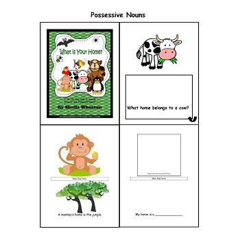 What is Your Home? - A READ TO LEARN Book About Possessive Nouns