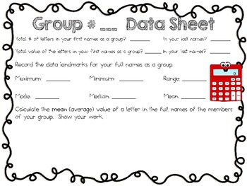 What is Your Name Worth? ~ Back to School Activity for Intermediate Students