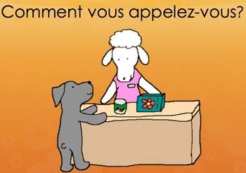 """""""What is Your Name?"""" in French with Pepper the Pooch"""