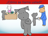 """""""What is Your Name?"""" in Spanish with Pepper the Pooch"""
