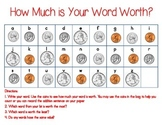 What is Your Word Worth? Daily Five Activity