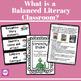 What is a BALANCED LITERACY classroom?