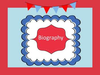 What is a Biography?