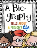 What is a Biography?  A Fun Writing Unit!