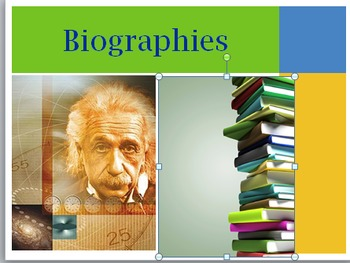 What is a Biography PPT