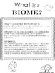What is a Biome? - Grade 4 Science Presentation Illustration and Info Cards