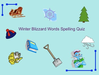 What is a Blizzard? (for the young) Plus a Winter Word Quiz!
