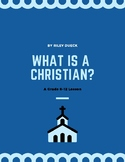 What is a Christian? - FREE LESSON