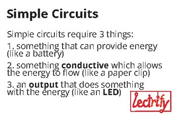 What is a Circuit? Teaching Cards