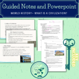 What is a Civilization Notes World History