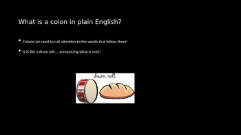 What is a Colon PowerPoint
