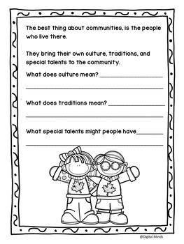 What is a Community?  A Grade 2 Alberta Social Studies Unit