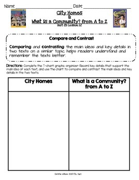 2014 What is a Community? from A to Z and City Homes ReadyGen Lesson 12
