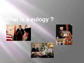 What is a Eulogy?