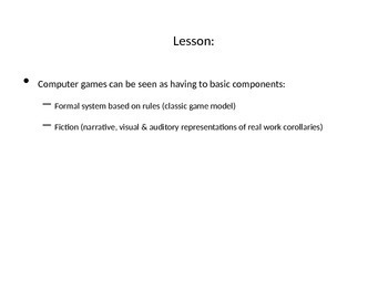 What is a Game? A General Definition of the Medium