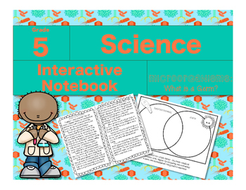 Microorganisms Interactive Notebook-What is a Germ?