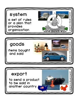 What is a Government? Readygen Vocabulary Grade 3