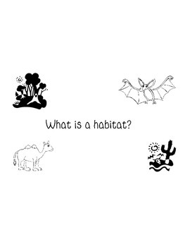 What is a Habitat?  mini-book