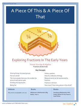 What is a Half? A Mathematics unit of work on Fractions for year 5-7