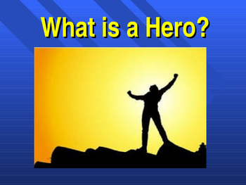 What is a Hero?  Percy Jackson