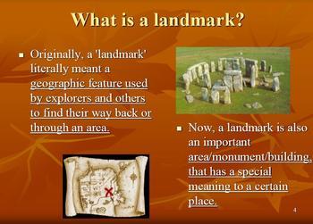 FREEBIE What is a Landmark?