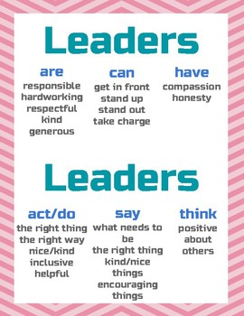 What is a Leader Poster