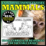 Animal Classes for Grades 1-3: WHAT IS A MAMMAL? (Cut-and-Glue Science)