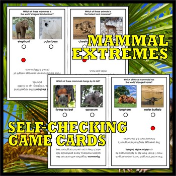 What is a MAMMAL? Activity Pack