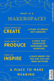 What is a Makerspace? Poster