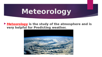 What is a Meteorologist?