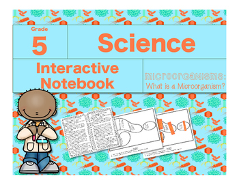 Microorganisms Interactive Notebook-What is a Microorganism?