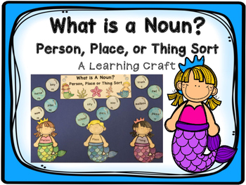 What is a Noun? Learning Craft