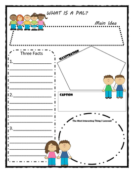 What is a Pal? Story Map - Graphic Organizer