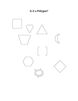 What is a Polygon - Math