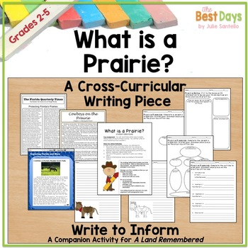 What is a Prairie?  A Cross-Curricular Informational Writing Activity