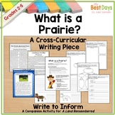 FSA Writing Prompts:   What is a Prairie?  Paired Writing Prompts