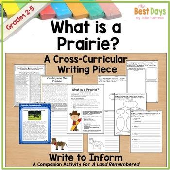 What is a Prairie?  A Cross-Curricular Informational Writi