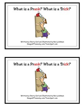 What is a Prank? What is a Trick? Guided Reader/Wd Families