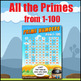 Prime Numbers - What is a Prime Number? Primes 1-100 - 1st 100 Primes -3 Posters