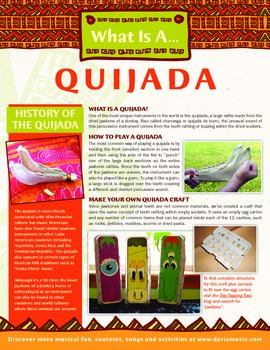 What is a Quijada (Jawbone Instrument)