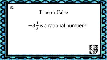 What is a Rational Number? (15 Task Cards & Interactive Video Lesson)
