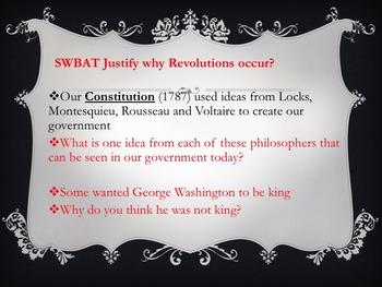 What is a Revolution? Lesson Bundle, Cooperative Activity, Common Core
