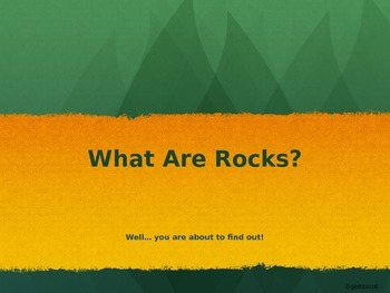 What is a Rock?