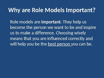 What is a Role Model
