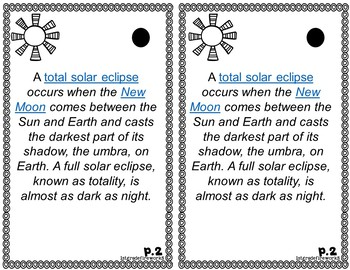 What is a SOLAR ECLIPSE?