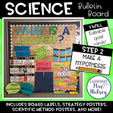 What is a Scientist? Editable Bulletin Board Kit