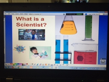 What is a Scientist?  Introduction to Science -ActivInspire Flipchart